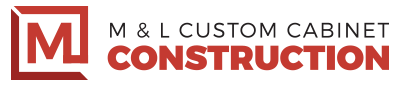 M & L Custom Cabinet Construction Logo